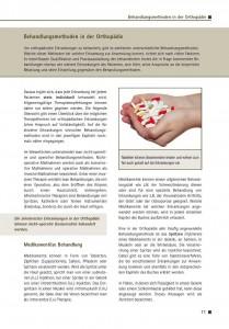 Behandlungsmethoden in der Orthopädie